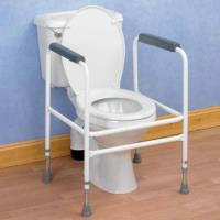 Height Adjustable Toilet Surround
